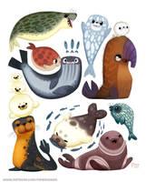 #2511. Seals - Designs