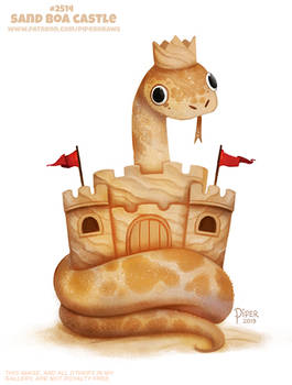#2514. Sand Boa Castle - Wordplay
