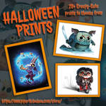 DeviantART Halloween 2019 Promo by Cryptid-Creations