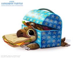 #2526. Lunchbox Turtle - Word Play