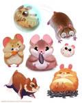 #2526. Hamsters - Designs