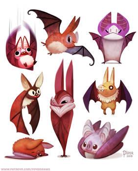 #2531. Bats - Designs