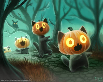 #2533. Halloween March - Illustration