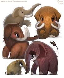 #2543. Mammoth - Designs