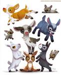 #2547. Pgymy Goats - Designs