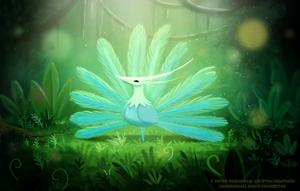 #2573. Peacock - Illustration