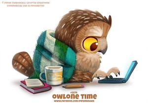 #2576. Owlone Time - Word Play