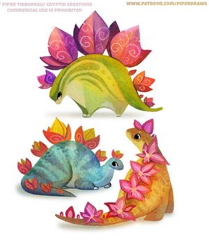 #2579. Stegosaurus - Designs
