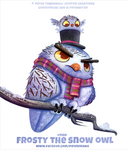 #2580. Frosty The Snow Owl - Word Play