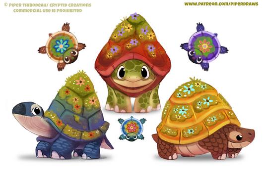 #2583. Tortoises - Designs