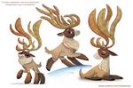 #2587. Reindeer - Designs