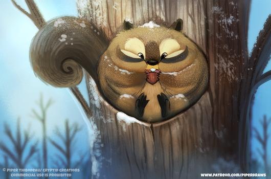 #2593. Squirrel - Illustration