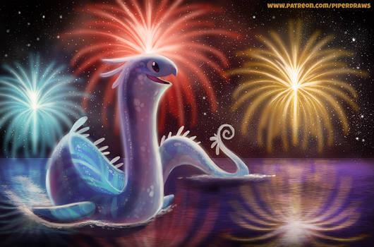 #2597. Happy New Year! - Illustration