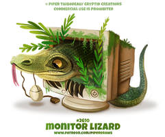 #2610. Monitor Lizard - Word Play