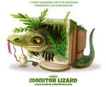 #2610. Monitor Lizard - Word Play