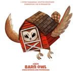 #2614. Barn Owl - Word Play