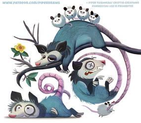 #2615. Opossum - Designs