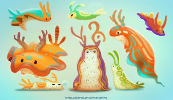 #2626. Sea Slugs - Design