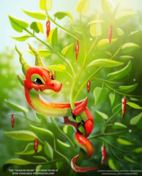 #2631. Pepper Dragon - Illustration