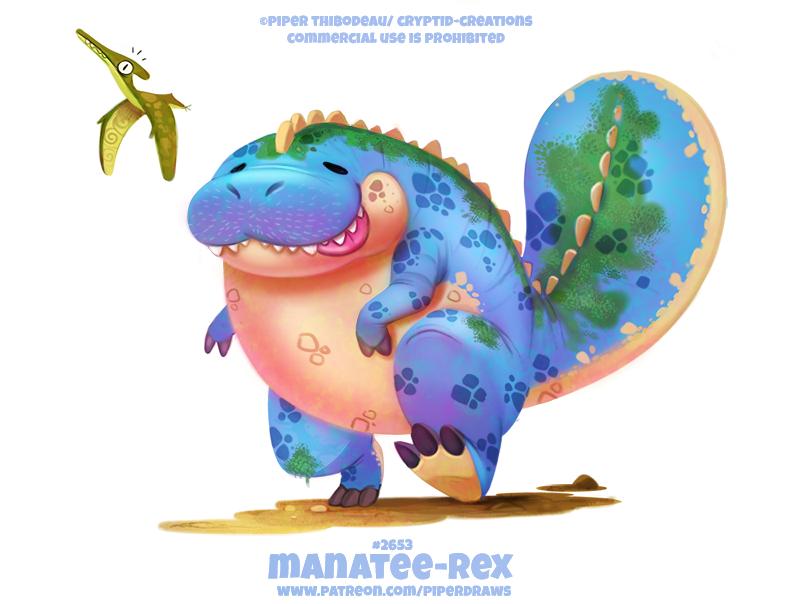 #2653. Manatee-Rex - Wordplay
