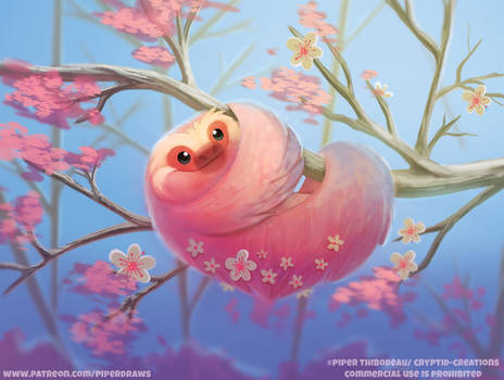 #2654. Cherry Slothssum - Illustration