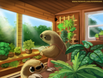 #2681. Indoor Gardening - Illustration
