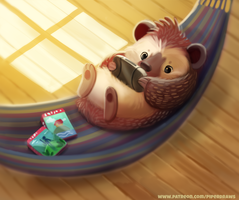 #2682. Hammock - Illustration