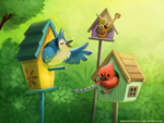 #2683. Birdhouse Musical - Illustration