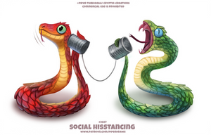 #2687. Social Hisstancing - Word Play