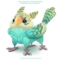 #2693. Griffakeet - Illustration