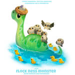 #2711. Flock Ness Monster - Word Play