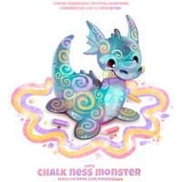 #2712. Chalk Ness Monster - Word Play