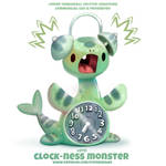 #2713. Clock-Ness Monster - Word Play