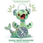 #2713. Clock-Ness Monster - Word Play
