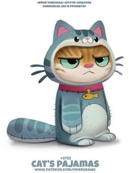 #2723. Cat's Pajamas - Word Play
