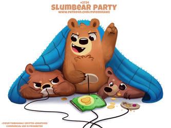 #2724. Slumbear Party - Word Play