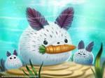 #2732. Bunny Slug - Illustration