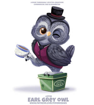 #2739. Earl Grey Owl - Word Play