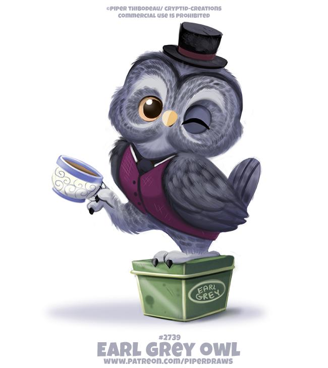 #2739. Earl Grey Owl - Word Play