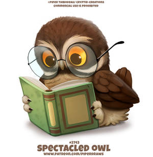#2743. Spectacled Owl - Word Play