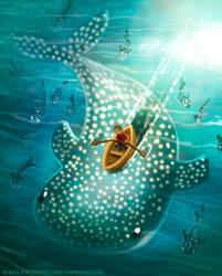 #2747. Whale Shark - Illustration