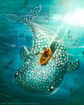 #2747. Whale Shark - Illustration