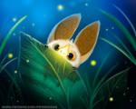 #2750. Glowing Bat - Illustration