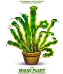 #2764. Snake Plant - Word Play