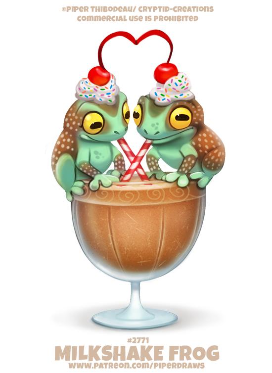 #2771. Milkshake Frog - Word Play