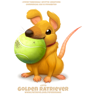 #2775. Golden Ratriever - Word Play