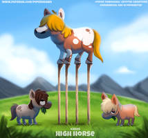 #2805. High Horse - Word Play