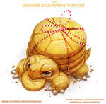 #2818. Ginger Snapping Turtle - Word Play