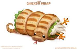 #2820. Chicken Wrap - Word Play