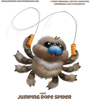 #2827. Jump Rope Spider - Word Play